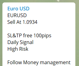 Daily EUR/USD Forecasts Signals and Trade Alerts | Signal Skyline